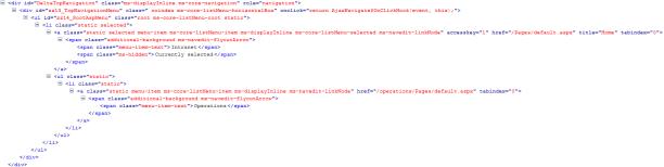 HTMLnav